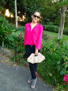 Meringues and Chiffon: Electric Pink