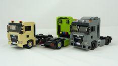 MAN TGX 2021 4x2 GM & GN 1 Lego Vehicles, Tractors, Trucks, Album, Pictures, Photos, Truck, Grimm, Card Book