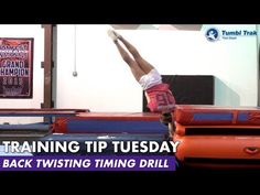 Back Twisting Timing Drill - YouTube