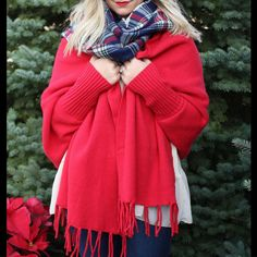 Christmas Ponchos! Marie J's offers $5 flat rate shipping on all orders.