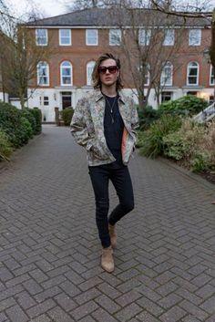 What Dougie Poynter's wearing to London Fashion Week
