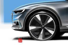 Audi Prologue allroad Concept – Design Sketch Gallery