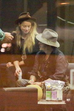 *EXCLUSIVE* Rio de Janeiro, Brazil - Johnny Depp and Amber Heard enjoy a coffee stop in Rio. Depp is currently in Rio to play Rock in Rio Festival with his band the Hollywood Vampires. Rio Festival, Johnny Depp And Amber, The Hollywood Vampires, Rock In Rio, Johny Depp, Him Band, Amber Heard, Love Affair, Candid