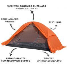 fb5c952e3 Barraca de Camping 1 2 Pessoas Mykra Termo Selada - Azteq
