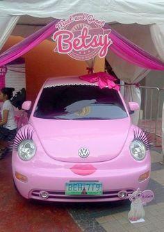 We love pink beetles!! =)
