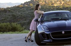 2015 Jaguar F-Type Coupe: Sultry cat meets the Kate Spade Monaco Collection