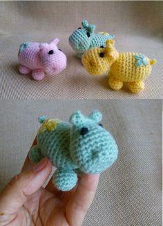 Crochet Hippo, Crochet Animals, Knit Crochet, Etsy Handmade, Handmade Gifts, Handmade Items, Dream Studio, Pin Pin, Crochet Gifts