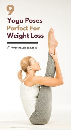 9 Best Yoga Poses for Weight Loss With the right yoga poses and practice, you can shed extra pounds off your belly. This list covers some of the most effective yoga poses for weight loss. Yoga For Weight Loss, Best Weight Loss, Weight Loss Tips, Lose Weight, Lose Fat, Yoga Fitness, Health Fitness, Yoga Routine, Yoga Inspiration