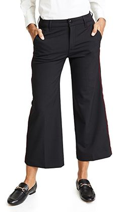 Seafarer Harry New Special Wide Leg Wool Trousers In Black Wool Seafarer, Black Wool, Wide Leg, Capri Pants, Trousers, Legs, Shopping, Collection, Style