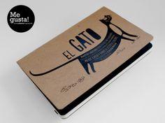 Ilustraciones para libretas handmade by Andrea del PInco, via Behance