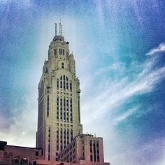 Historical LeVeque Tower in downtown #Columbus