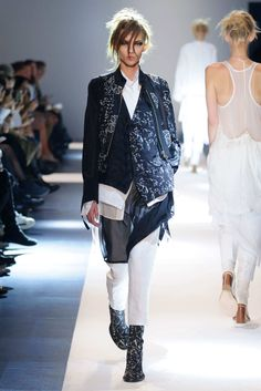 "Ann Demeulemeester SS2015 ""I'd like to cut an attitude in my clothes"""