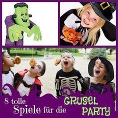 8 gruselige Spiele für die Halloweenparty mit Kindern