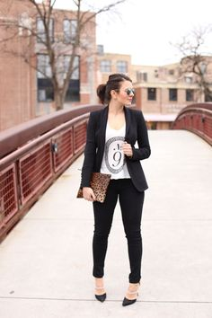 black and white outfit inspiration via @mystylevita
