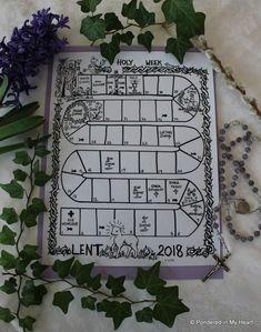 2018 Lenten Countdown Calendar