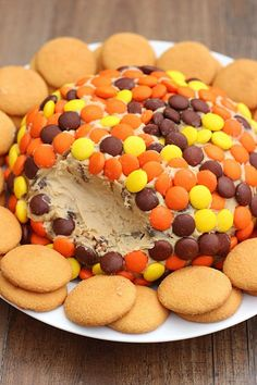 Reese's Peanut Butter Cookie Dough Cheese Ball - Whats Cooking Love?: