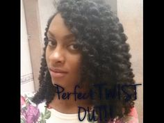 How to do a PERFECT wet twist out on NATURAL HAIR