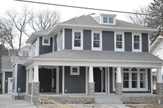 grey hardie house with board and batt - Google Search