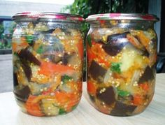 Салат с баклажанами, наш любимый. | 4vkusa.ru