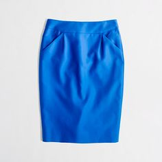 J.Crew Factory - Factory pencil skirt in double-serge cotton