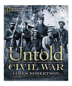 Look what I found on #zulily! The Untold Civil War Hardcover #zulilyfinds