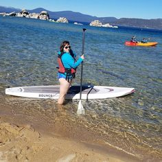 I paddleboard like a boss   Sneaking in some adventures of my own between takes while producing  . #paddleboard #pose #model #fitness #adventure #fitnessmodel #model #sassy #sunshine #beauty #pretty #goofy #laketahoe #clearwater #chilly #fall @patagonia @brulietmedia #sandharbor