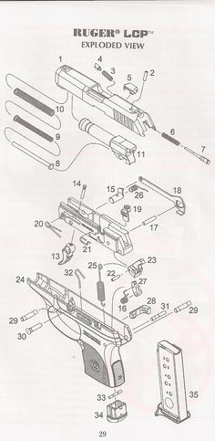 1911 Pattern Pistol Parts Diagram | good things to know ...