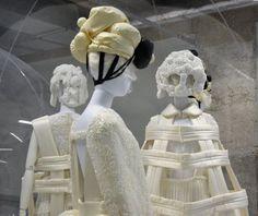 white drama-comme des garçons -Innervée - Art & Fashion Innervations