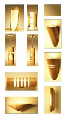 Gorgeous lamp designs offer beauty and unique atmosphere in a house. Learn what unique lamp designs to consider when designing a house. Diy Luz, Bamboo Light, Bamboo Lamps, Bamboo Structure, Bamboo Architecture, Bamboo House, Bamboo Furniture, Funky Furniture, Plywood Furniture