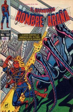 Cover for El Asombroso Hombre Araña (Novedades, 1980 series) #187