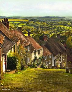 Shaftesbury in Dorset by Graham Rains