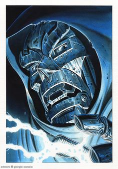 Doctor Doom IX Comic Art