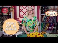Dica de Sexta - Saquinho em 5 minutos (Tutorial Patchwork) - YouTube Tutorial Patchwork, Diy Pillows, Couture, Patches, Arts And Crafts, Quilts, Sewing, Pattern, Inspiration