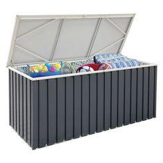 Tepro Metall-Gerätebox Anthrazit  173,8 x 73 x 72,7 cm