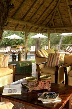 Sabi Sabi Selati Camp, winner of Fodor's 100 Hotel Awards for the Luxurious Retreat category Small Farmhouse Kitchen, Sand Game, Game Lodge, Private Games, Around The World In 80 Days, Lodge Style, Kruger National Park, Game Reserve, Park Hotel