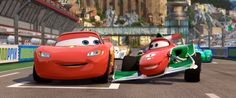 """Ha ha! Really? You are speed? Then Francesco is TRIPLE speed!"" -Francesco Bernoulli, Cars 2"
