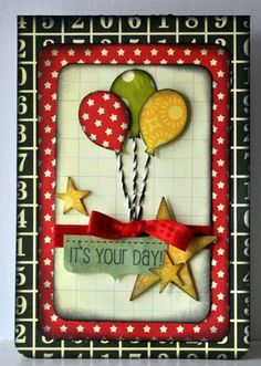 Very cute-great B-day card.