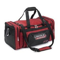 Lincoln Electric Welding Equipment Bag: This industrial duffle bag holds your welding gear and/or after-work street cloths safely x 12 x It is industrial grade and made from tough 1680 Denier fabric which resists wear and abrasion. Miller Welding Helmet, Welding Gear, Welding Jobs, Welding Equipment, Metal Welding, Welding Projects, Diy Welding, Metal Projects, Art Projects