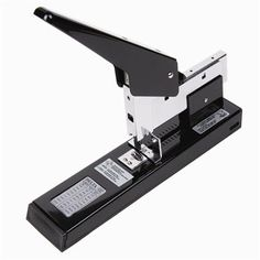 Delta- Steel High Capacity Heavy Duty Stapler 240 Sheets Capacity Delta Writing Instruments http://www.amazon.com/dp/B009BFFCAI/ref=cm_sw_r_pi_dp_HC9svb09Z2W52
