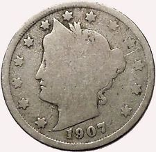 1907 LIBERTY HEAD NICKEL 5 Cent United States of America USA Antique Coin i43554 #ancientcoins https://ancientcoinsaustralia.wordpress.com/2015/11/03/1907-liberty-head-nickel-5-cent-united-states-of-america-usa-antique-coin-i43554-ancientcoins/