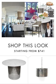 """""""Khloe Kardashian's kitchen"""" by lerato ❤ liked on Polyvore featuring interior, interiors, interior design, home, home decor, interior decorating, Anchor Hocking, GAS Jeans, Diane James and GO Home Ltd."""