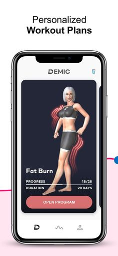 Demic: Weight Loss Workouts on the App Store Bigger Thigh Workout, Easy Workouts, At Home Workouts, Lose Lower Belly Fat, Fitness Workout For Women, Fitness Diet, Weight Loss Challenge, Workout Programs, Training Programs