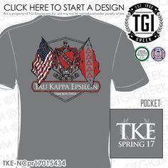 e4417c9d Tau Kappa Epsilon | TKE | Spring PR | Fraternity PR | PR Shirt |  Brotherhood | TGI Greek | Greek Apparel | Custom Apparel | Fraternity Tee  Shirts ...