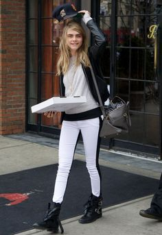 Hudson Jeans Collin Jean in Vice Versa - as seen on Cara Delevingne
