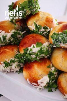 Turkish Recipes, Ethnic Recipes, Turkish Delight, Cheese Ball, Baked Potato, Tea Time, Bakery, Good Food, Health Fitness