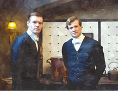 footmen-downton-abbey-colors - Beautiful color schemes can come from anywhere!