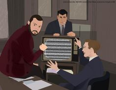 Mad Men Illustrated by Dyna Moe