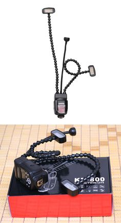 Retractable DIY Macro Twin Lite KR-800 Speedlite Flash Light Speedlight For Canon Nikon Pentax DSLR Cameras