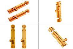 Brass Tower Bolts #BrassTowerBolts Brass Door Knocker, Brass Hinges, Door Knockers, Brass Hardware, Tower, Glass, Lathe