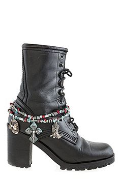 KARMAS CANVAS WESTERN STYLE CHARM LAYER BOOTS CHAIN ANKLET >>> For more information, visit image link.(This is an Amazon affiliate link)